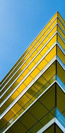 Blue & Yellow London szmigieldesign
